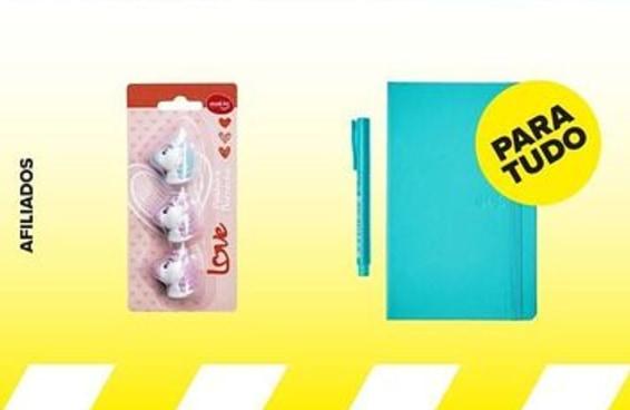 10 itens fofos de escritório por até R$50