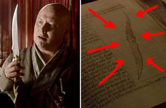 """Você percebeu este detalhe importante sobre a adaga na estreia de """"Game Of Thrones""""?"""