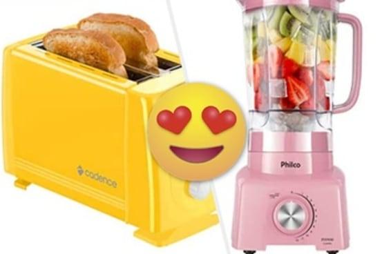 19 objetos coloridos para dar aquela animada na sua cozinha