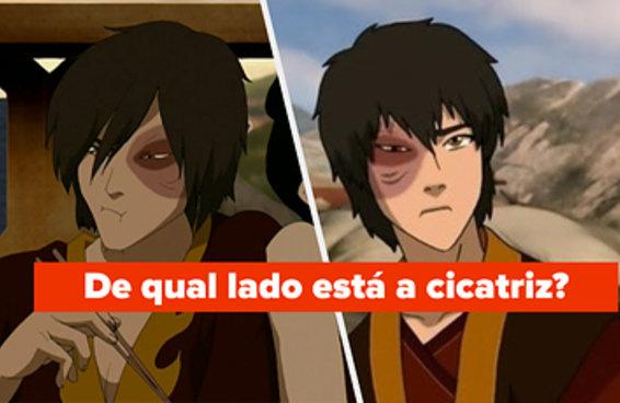 """Todo mundo que tem um crush no Zuko de """"Avatar: A Lenda de Aang"""" vai mandar bem nesse teste"""