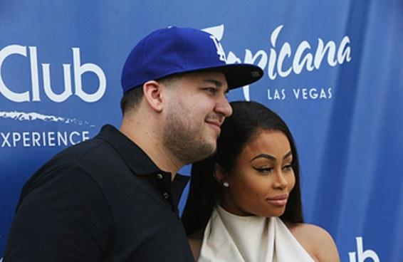 Após expor Blac Chyna nas redes sociais, Rob Kardashian pode ser preso