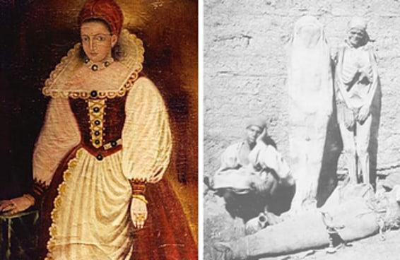 Você saberia dizer se estes fatos históricos horripilantes são verdadeiros ou falsos?