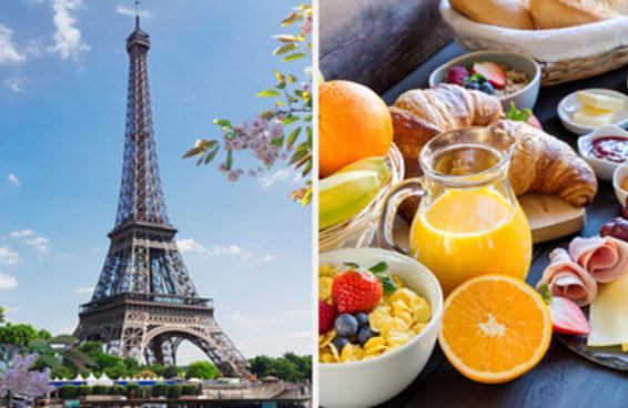 Monte um café da manhã de hotel e te diremos para onde você vai viajar nas próximas férias