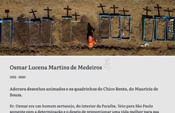 Mais de 30 mil pessoas já morreram no Brasil por causa da covid-19. Essas são algumas de suas histórias.