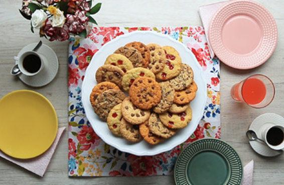 Cookies da vovó com mistura para bolo