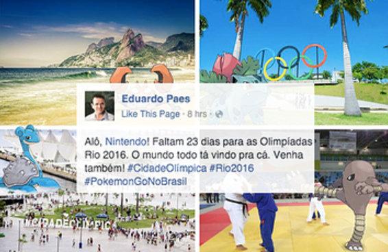 O prefeito do Rio misturou Pokémon GO com Olimpíadas e deu tudo errado