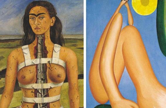 Você reconhece quais artistas pintaram estes quadros?