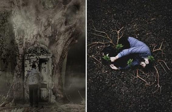 Um psicólogo fez um ensaio fotográfico tocante para ajudar a falar sobre doenças mentais e suicídio