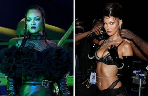 """Aqui estão as primeiras fotos das celebridades no novo """"Savage X Fenty Show"""" da Rihanna e, minha nossa... quantas estrelas"""