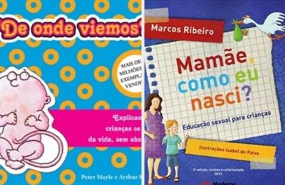 7 livros para explicar sexualidade para crianças