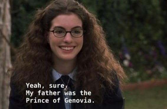"""24 perguntas que ficaram na minha cabeça depois de assistir à """"O Diário da Princesa"""" como adulto"""
