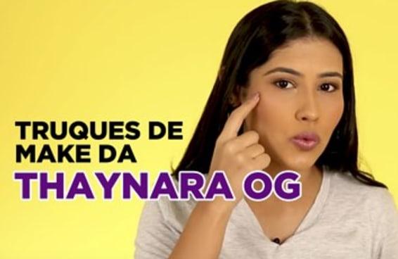 Os truques de maquiagem favoritos da Thaynara OG
