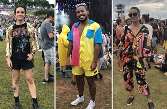 13 looks que arrasaram demais no Lollapalooza 2019