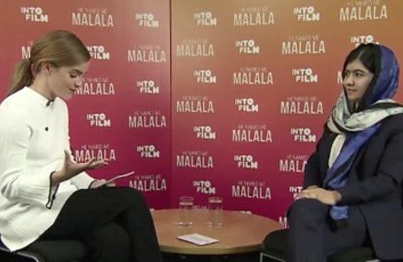 Emma Watson e Malala se encontraram, e foi tão maravilhoso quanto se possa imaginar