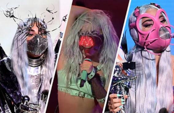 Qual máscara da Lady Gaga no VMAs é você?