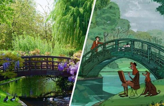 26 lugares da Disney que existem no mundo real e podem ser visitados na Europa
