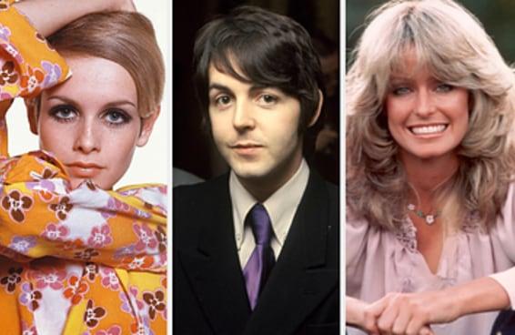Desculpem, pessoas das gerações X, Y e Z, mas só quem é mais velho que 45 vai reconhecer a maior parte desses rostos
