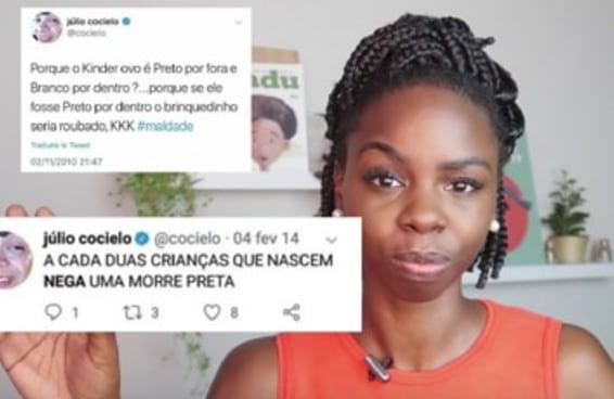 9 youtubers comentam o caso Cocielo e provam que racismo não é piada