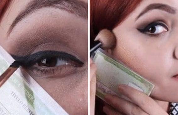 Este gif de maquiagem com o título de eleitor viralizou no Facebook