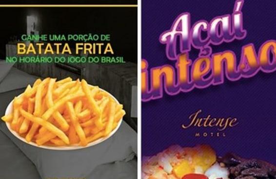 Aqui estão alguns motéis que entenderam as verdadeiras paixões dos brasileiros