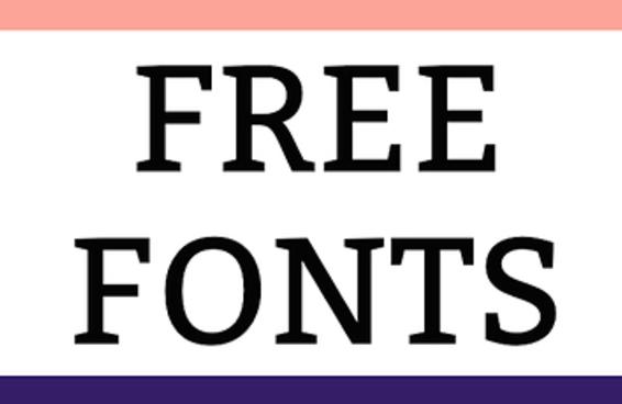 33 fontes gratuitas e essenciais que você precisa baixar