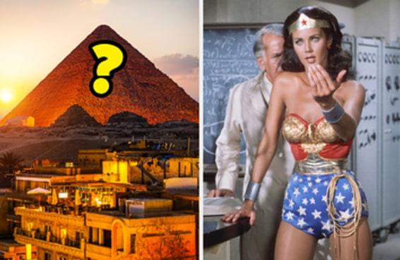 Você consegue se lembrar de todas as Sete Maravilhas do Mundo Antigo?