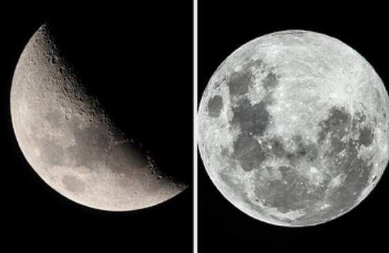 Escolha uma fase da Lua e revelaremos uma verdade profunda sobre você
