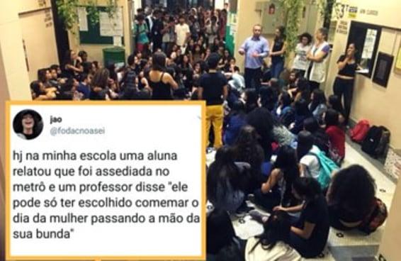 A atitude dessas estudantes mostrou como o feminismo pode mudar uma escola