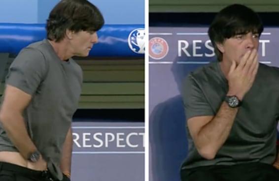 Pedimos para os alemães explicarem a porquice do técnico de futebol deles
