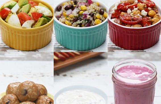 Estas 6 opções de comidinhas são leves e saudáveis