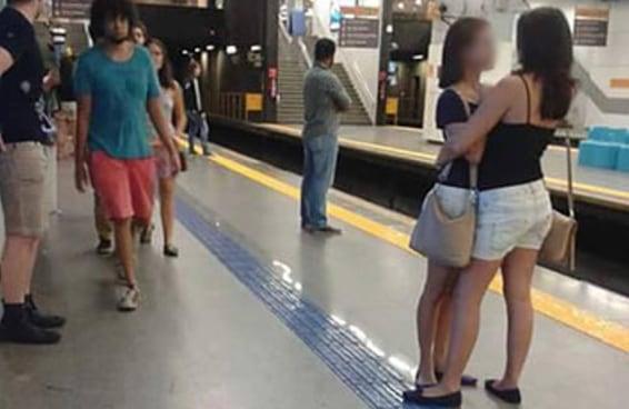Homem descreve cena chocante no metrô do Rio
