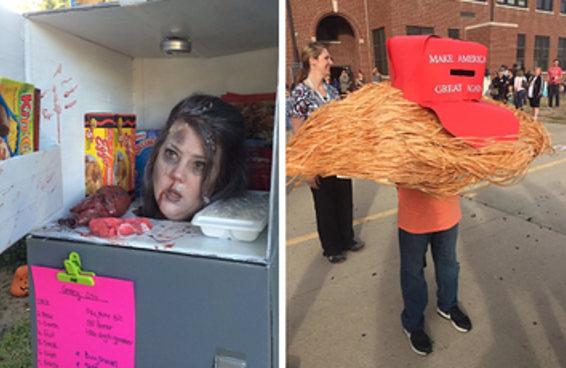 Algumas das fantasias mais marcantes do Halloween deste ano
