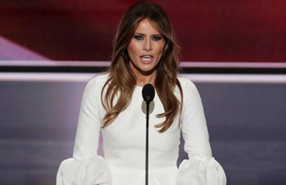 Melania Trump copiou parte de seu discurso de Michelle Obama