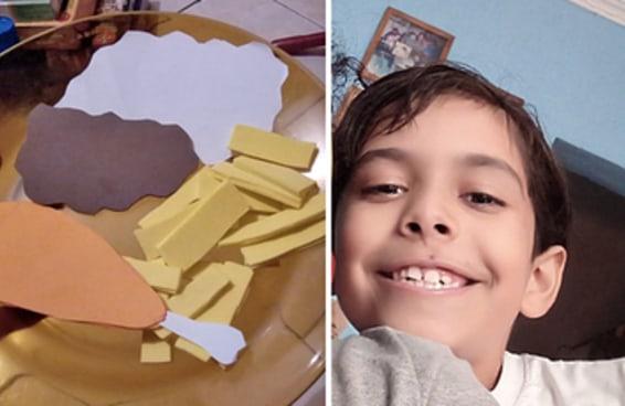 Esta moça fez seus seguidores do Twitter participarem de uma brincadeira de seu irmãozinho