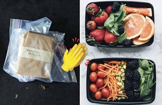 15 truques de armazenamento de alimentos para que suas compras durem o maior tempo possível