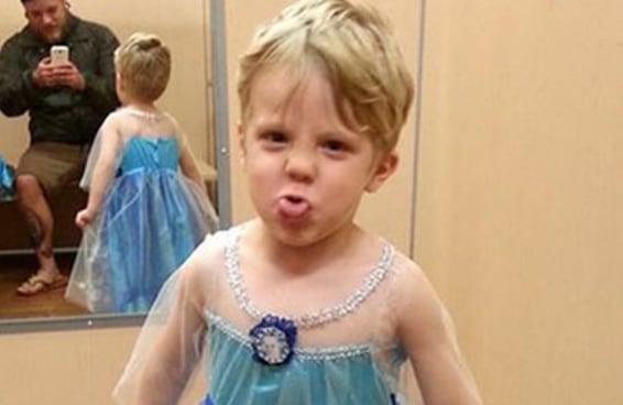 """Este pai deu a melhor resposta quando seu filho disse que queria se fantasiar de Elsa do """"Frozen"""" no Halloween"""