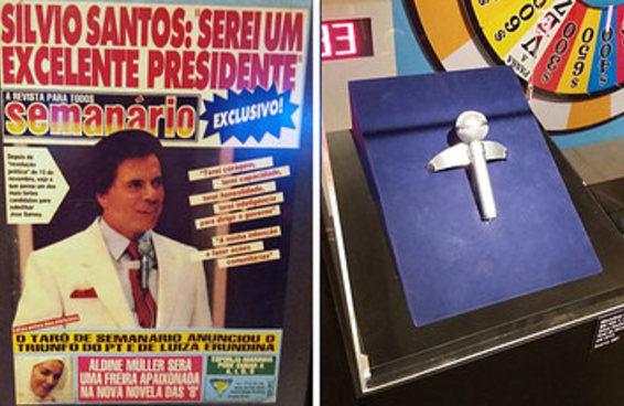 """28 imagens que você vai ver na exposição """"Silvio Santos Vem Aí"""""""