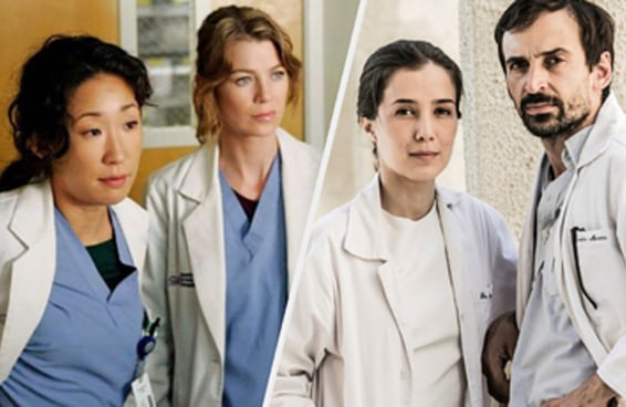 Quantas destas séries médicas você já assistiu?