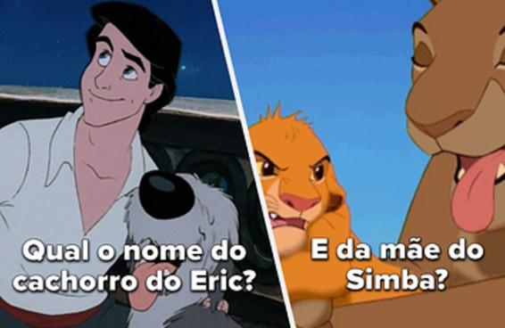 Só quem é fã dos príncipes da Disney vai mandar muito bem nesse teste