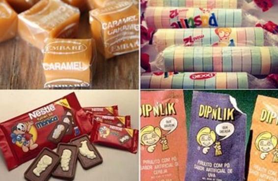 Quantos destes 100 doces da infância você já comeu?
