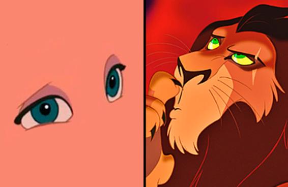 Você consegue reconhecer o personagem da Disney por seus lindos olhos?