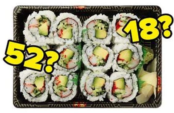 Adivinharemos sua idade mental com base no seu gosto por comida japonesa