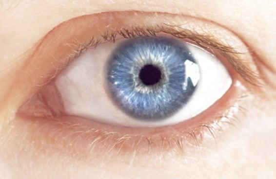 Quão bem você consegue enxergar a cor azul?