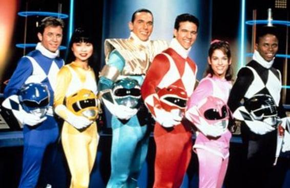 Todo mundo é uma combinação de dois Power Rangers e aqui estão os seus