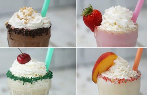 A única coisa melhor que um milk-shake é um milk-shake ALCOÓLICO