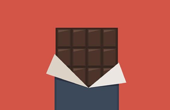 Você sabe fazer contas com chocolate?