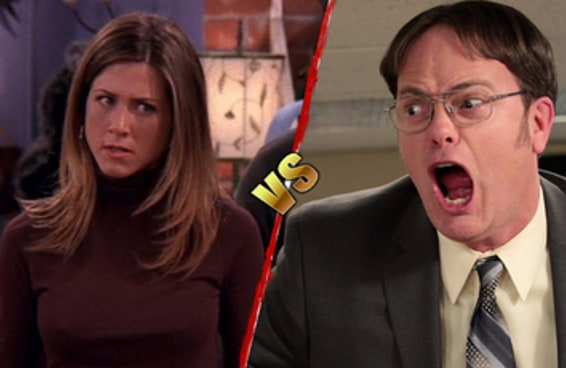 "A batalha preguiçosa e definitiva: ""Friends"" vs. ""The Office"""