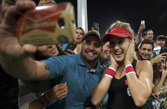 Estes atletas merecem uma medalha de ouro em selfies