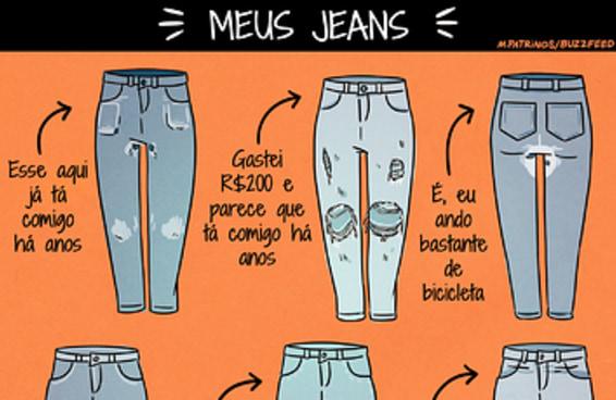 6 tipos de jeans que você provavelmente tem no armário