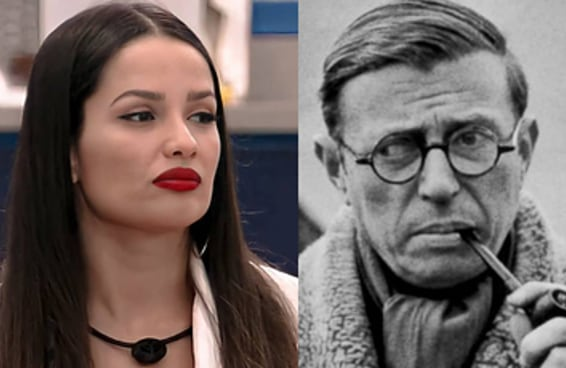 Quem disse isso, Juliette ou Jean Paul Sartre?